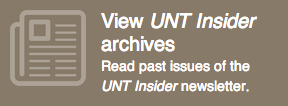 View UNT Insider archives